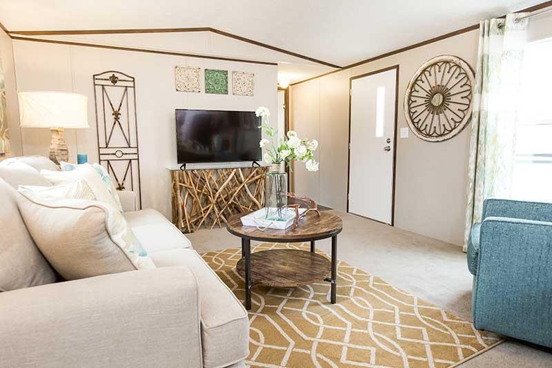 Modern Mobile Home Interior