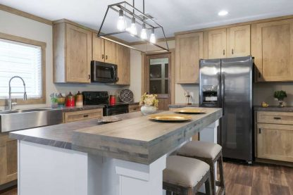 Clayton Athens Amelia Double Wide Mobile Home Kitchen