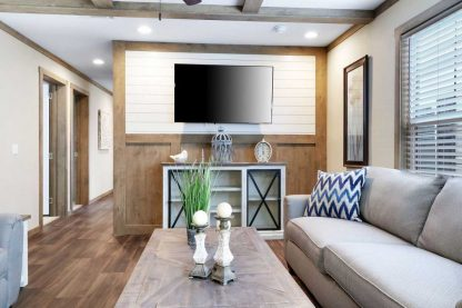 Clayton Athens Amelia Double Wide Mobile Home TV