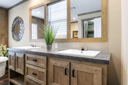 Clayton Athens Fletcher Double Wide Mobile Home Bathroom Sinks