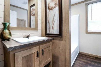 Clayton Athens Fletcher Double Wide Mobile Home Bath