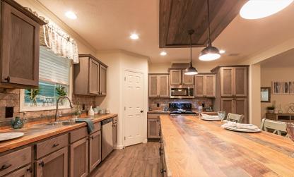 Deer Valley Zemira Mobile Home Kitchen