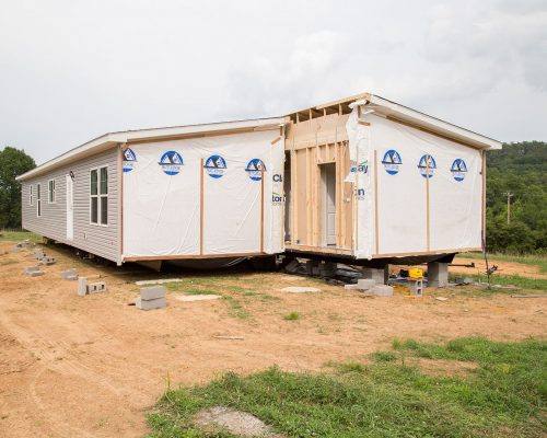 Setting Up a Manufactured Home
