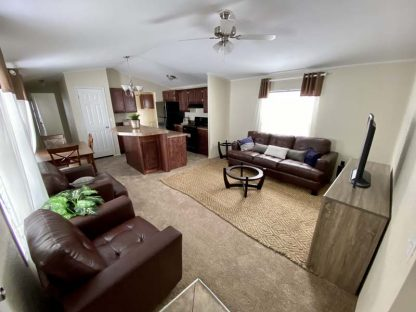 Solitaire 270 Single Wide Mobile Home Living Room