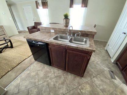 Solitaire 270 Single Wide Mobile Home Kitchen