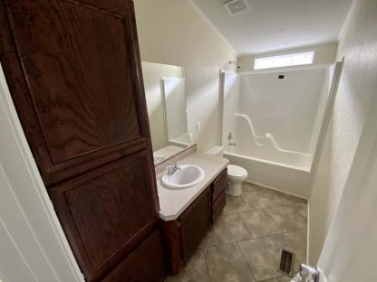 Solitaire 270 Single Wide Mobile Home Bathroom